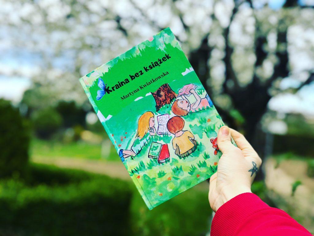 Kraina bez książek – czytanka, która podbiła Majki serduszko